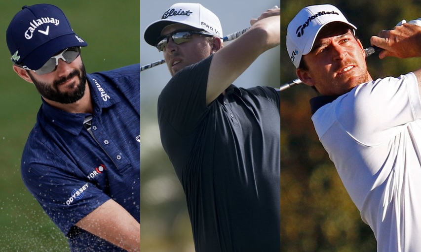 Adam Hadwin, Roger Sloan, and Nick Taylor