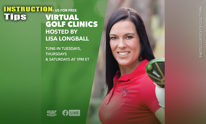 Lisa Longball Vlooswyk Virtual Golf Clinics