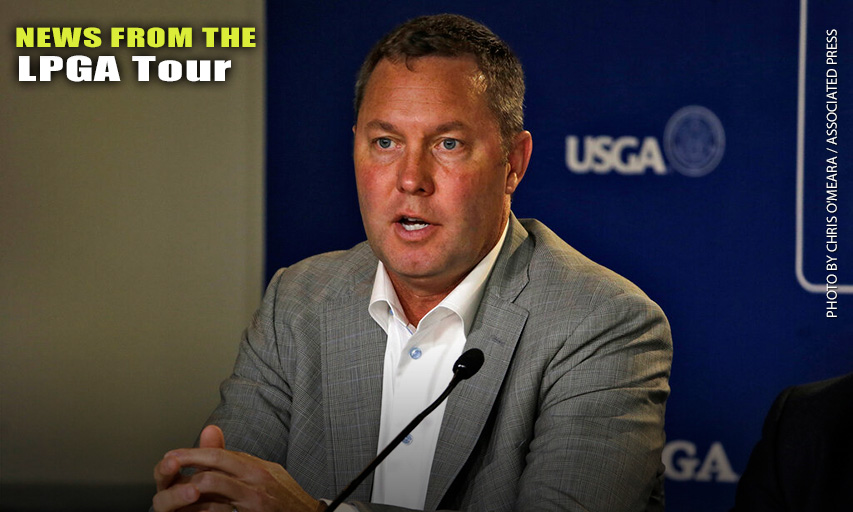 LPGA Commissioner Mike Whan
