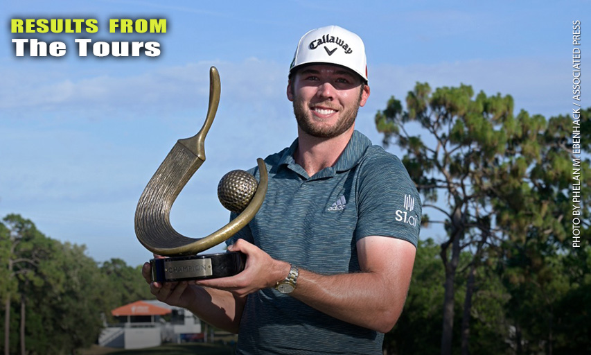 Sam Burns wins Valspar Championship